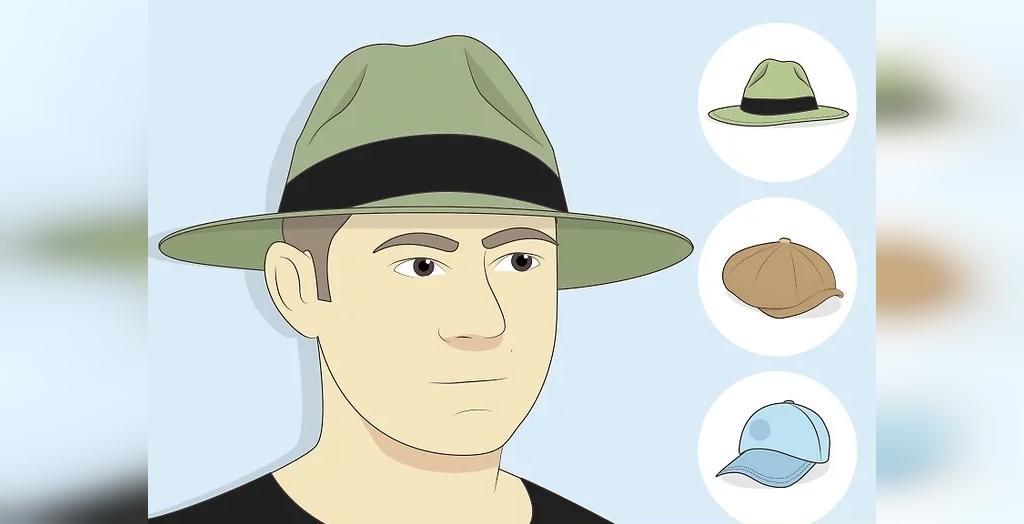 انتخاب کلاه برای صورت گرد