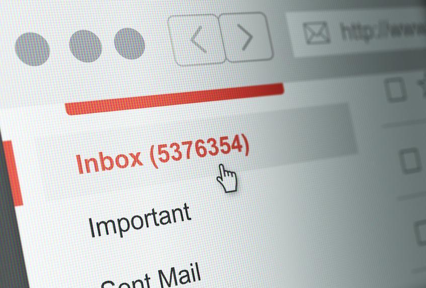 سازماندهی ایمیل ها در جیمیل