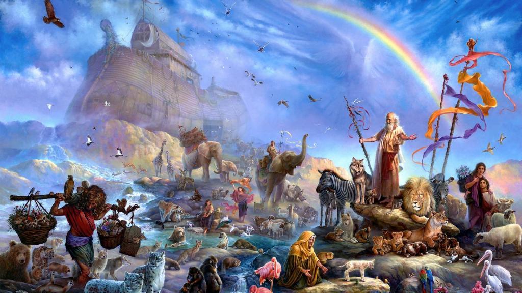 محل زندگی حضرت نوح