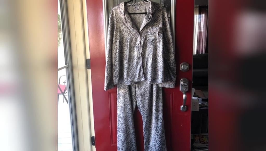 لباس خواب سایز بزرگ پلنگی جنیفر لوپز