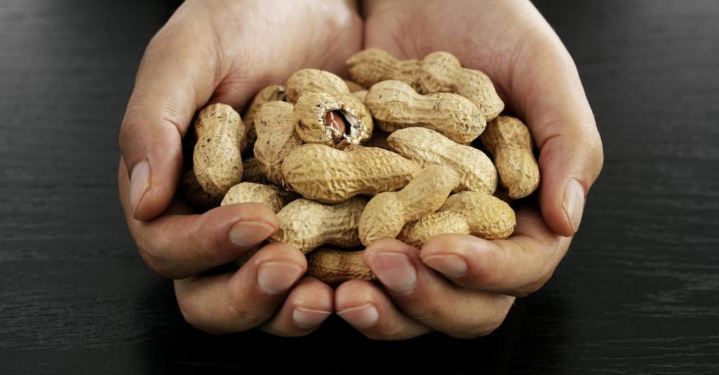 مواد غذایی حاوی بادام زمینی