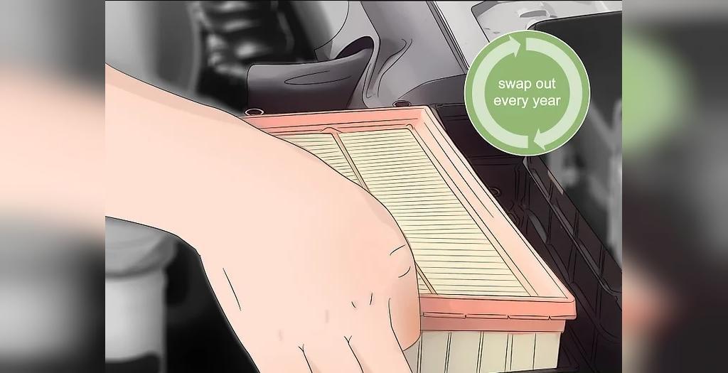 هر سال یکبار فیلتر هوای خودرو را تعویض کنید