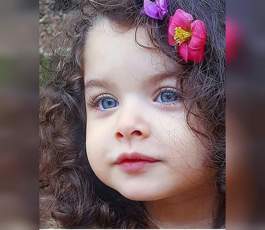 سری عکس های دختره بچه های دوست داشتنی و چشم رنگی