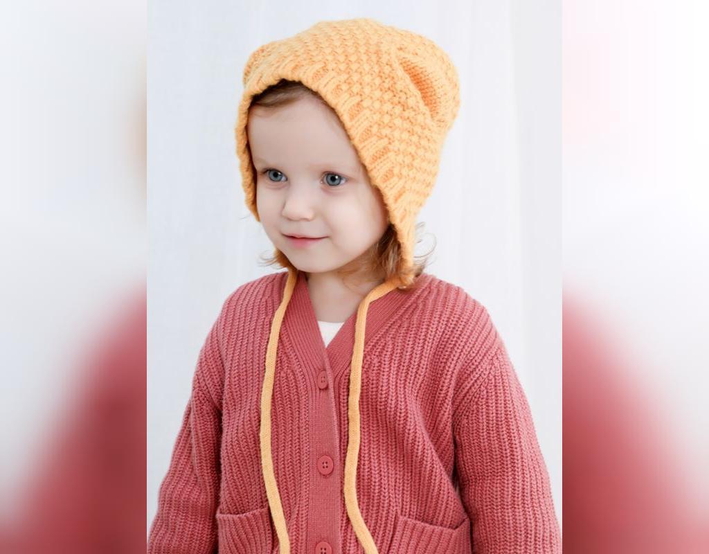 مدل ژورنال کلاه بافتنی کودک