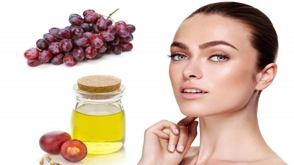 خواص روغن هسته انگور برای پوست و 5 روش مصرف آن روی پوست
