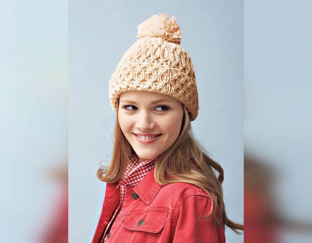 مدل شال و کلاه بافتنی فانتزی دخترانه