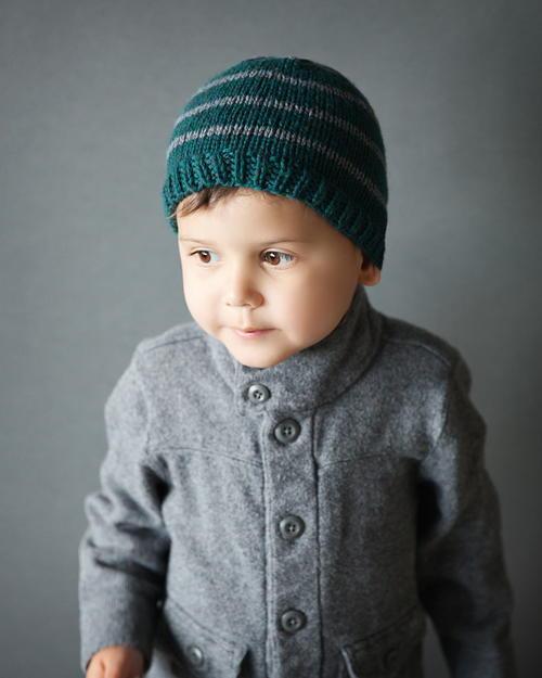 کلاه بافتنی پسرانه ساده و ارزان