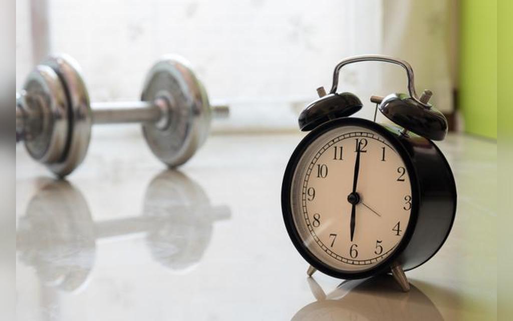 زمان مناسب ورزش