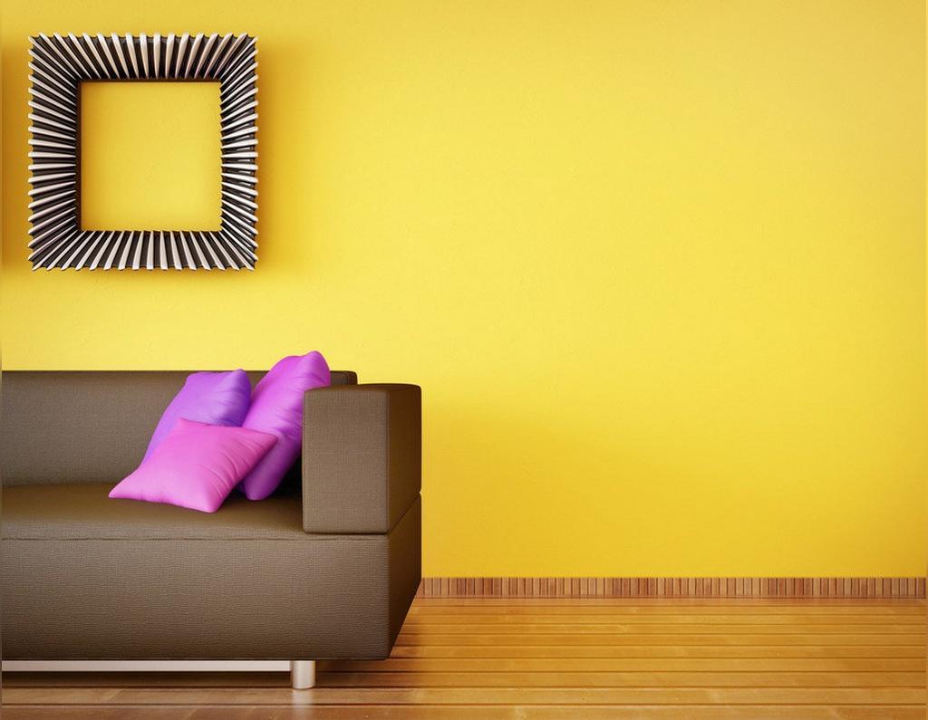 ویژگی های رنگ زرد برای خانه