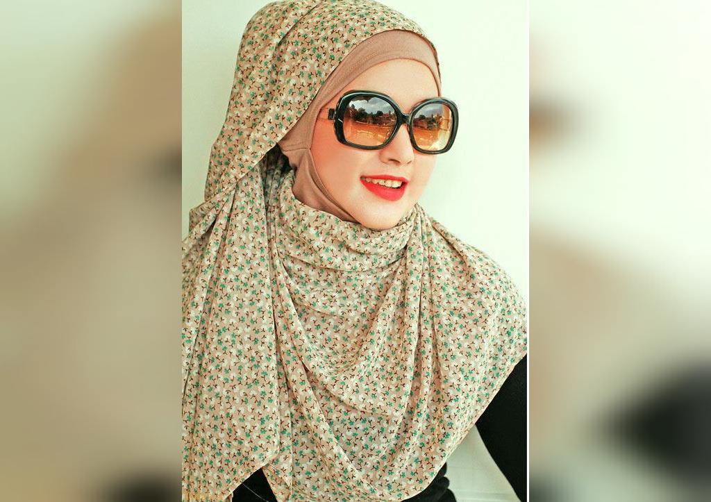 مدل روسری لبنانی تابستانی