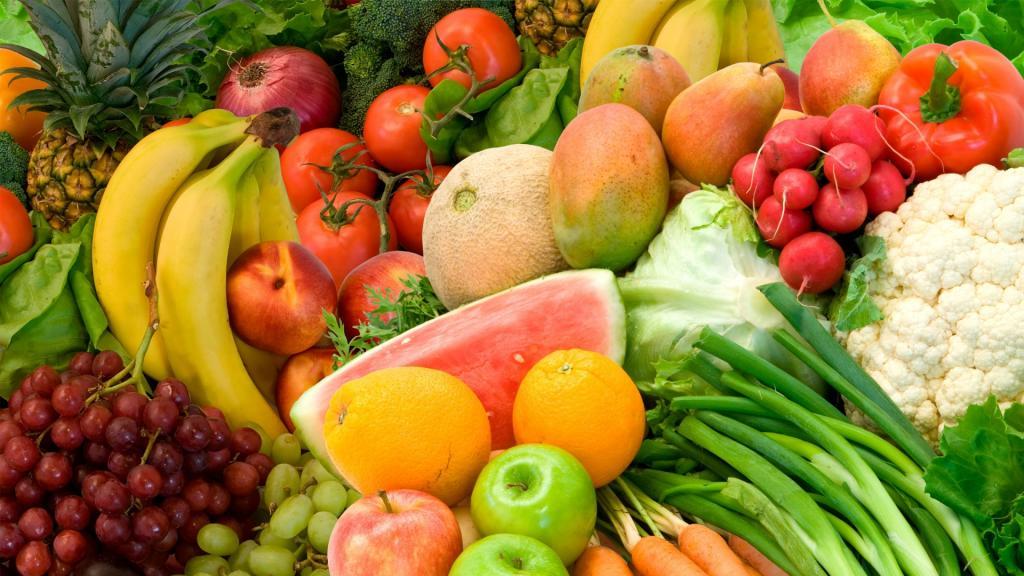 موم زدن به میوه ها و سبزیجات