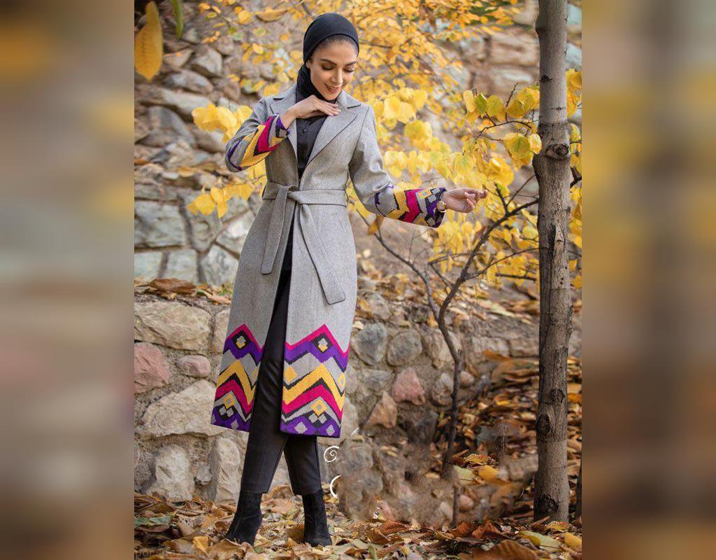 مدل مانتو بلند دخترانه پاییزی