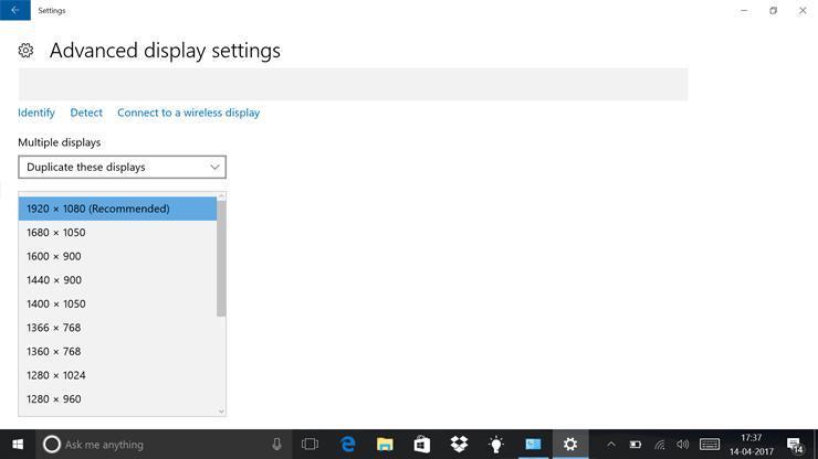 تنظیمات لازم برای وصل کردن لپ تاپ به تلویزیون