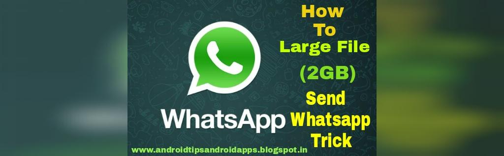 حداکثر حجم ویدیو ارسالی در واتساپ
