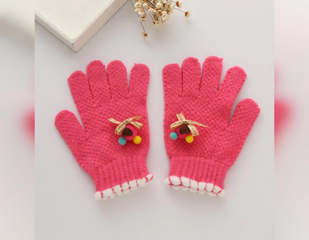 مدل دستکش بافتنی برای دختر بچه