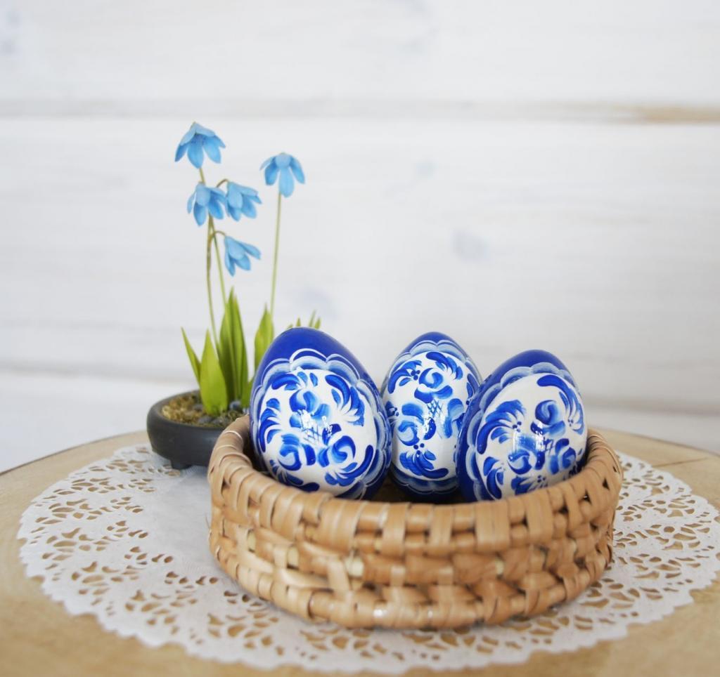 تخم مرغ هفت سین شیک با رنگ