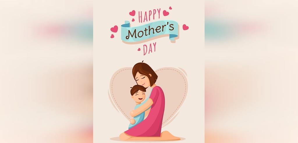 عکس نوشته پروفایل روز مادر برای تلگرام فانتزی