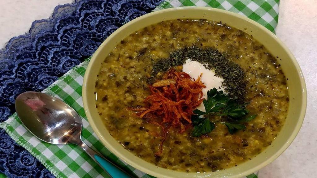 طرز تهیه آش ماش بدون گوشت خوشمزه برای سرماخوردگی در طب سنتی
