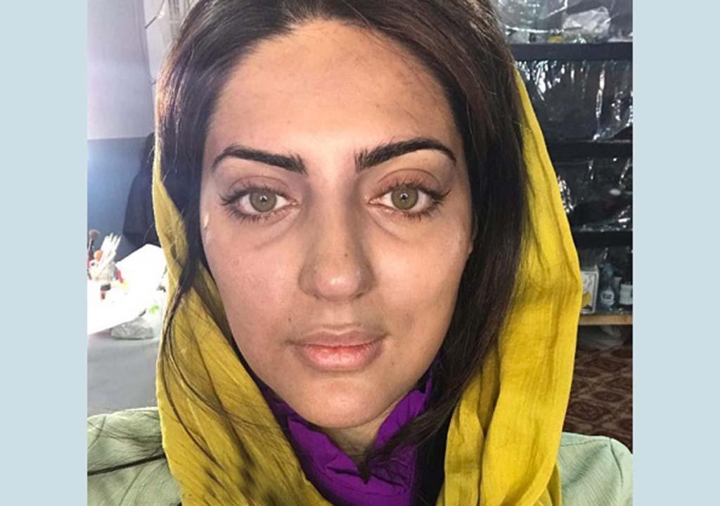 هلیا امامی بدون آرایش