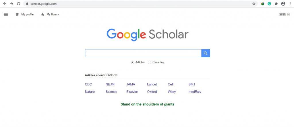 نحوه دانلود مقاله از گوگل اسکولار
