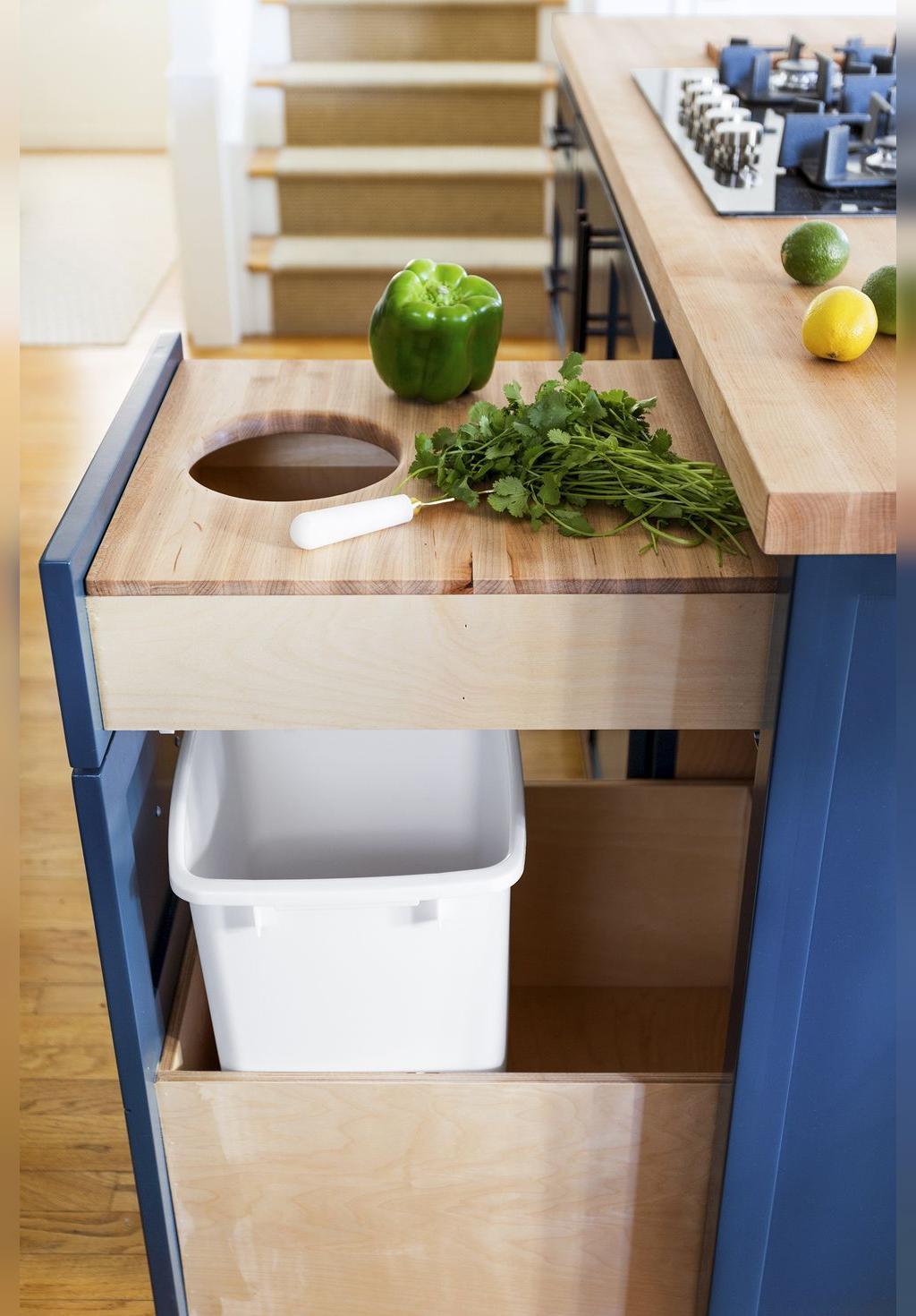 تکنیک های چیدمان آشپزخانه های کوچک