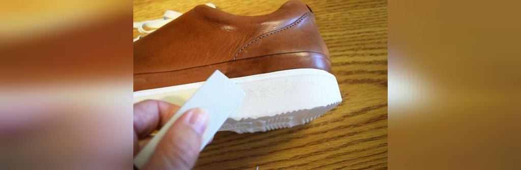 نکته های خانه داری، تمیز کردن کفی کفش
