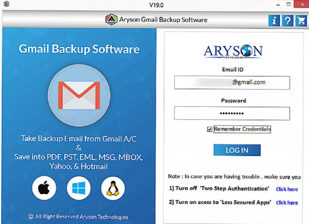 انتقال پیام های Gmail به حساب Yahoo