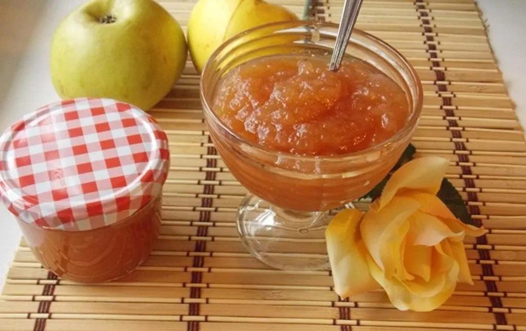 طرز تهیه مربای سیب خوشرنگ و خوشمزه