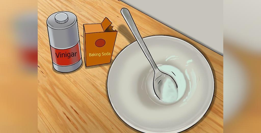 تمیز کردن ظروف مسی با سرکه