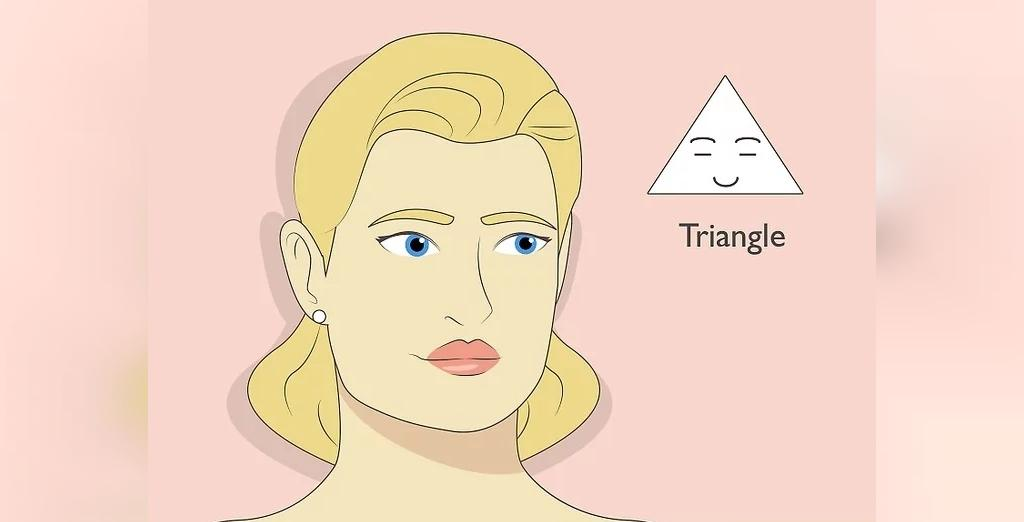 تعیین فرم صورت:صورت مثلثی چگونه است