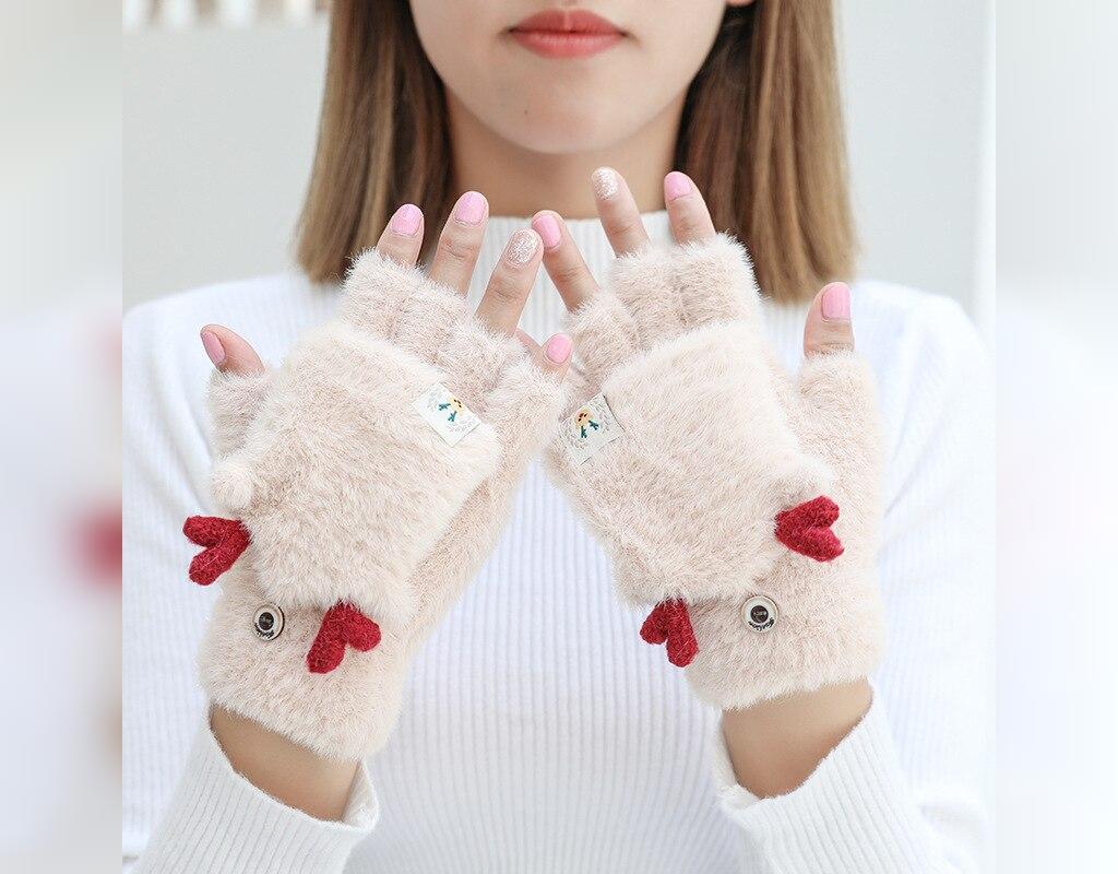انواع مدل های دستکش بافتنی فانتزی دخترانه
