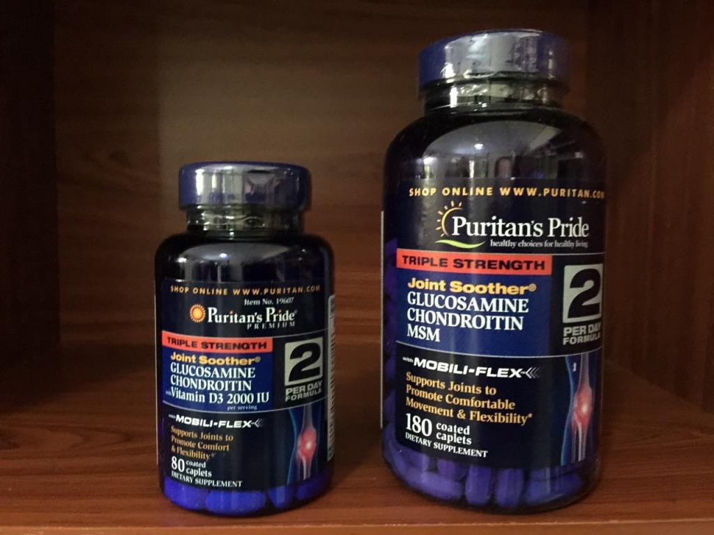 مکمل های غضروف ساز زانو، گلوکوزامین و چاندرویتین