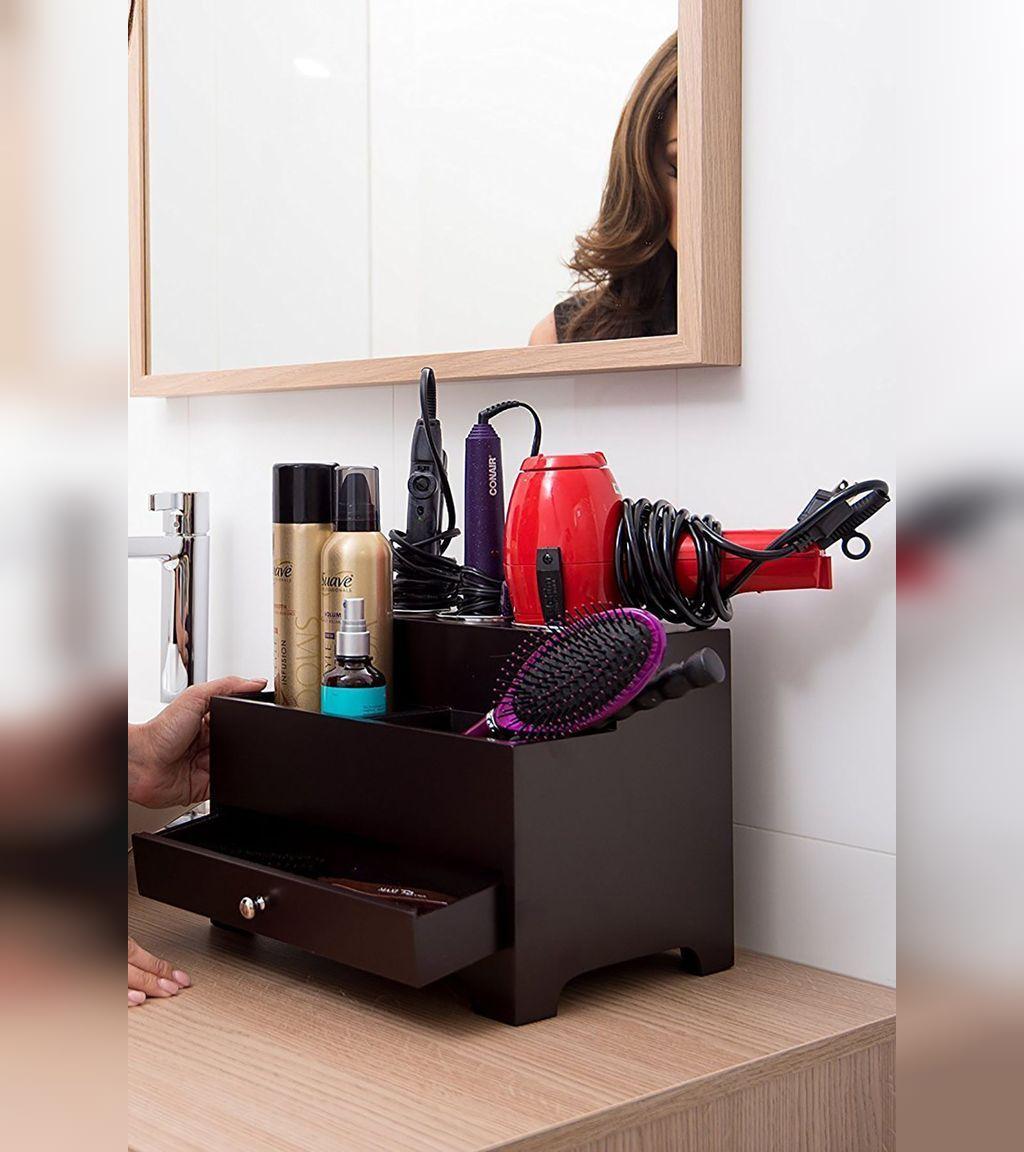 ترفندهای نگهداری از وسایل مربوط به مو در حمام