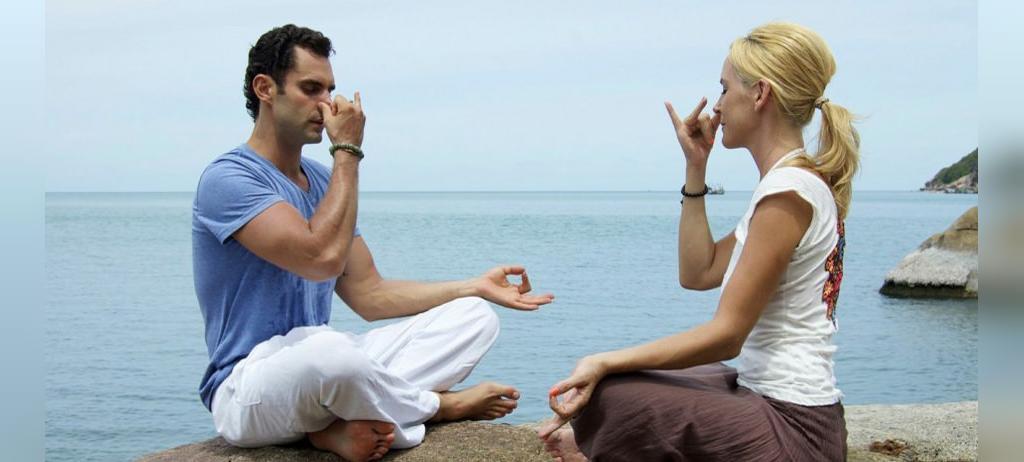بهبود تنفس از مزیت های یوگا