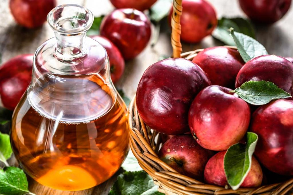 سرکه سیب؛ درمان موهای مجعد