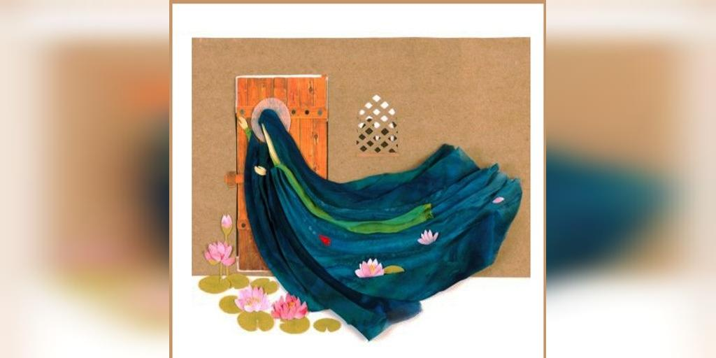 نقاشی شهادت حضرت زهرا با کیفیت