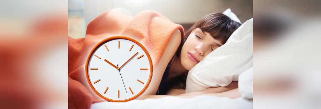 بهترین زمان خوابیدن