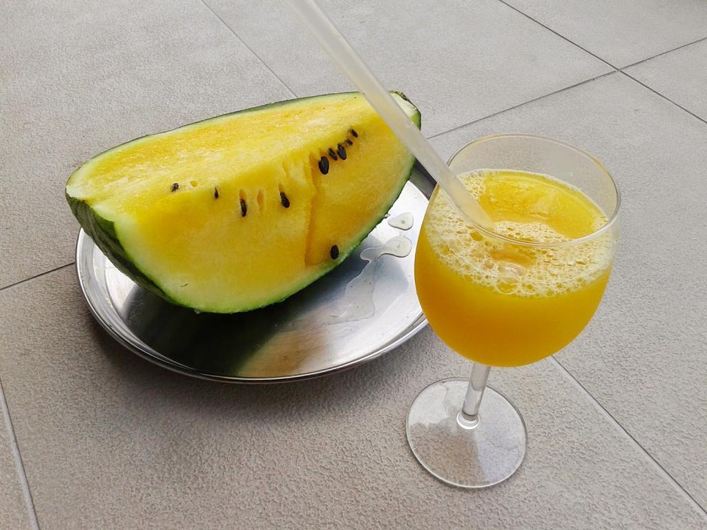 هندوانه زرد در بارداری (آناناسی)