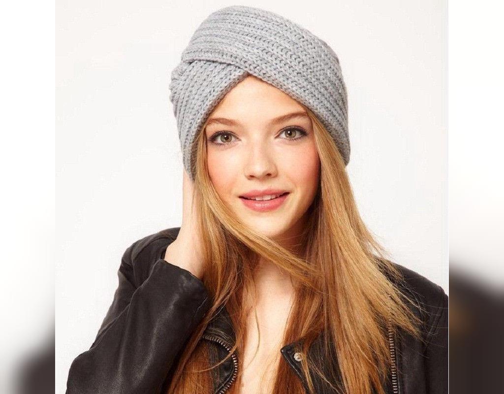 مدل کلاه بافتنی دخترانه اسپرت شیک
