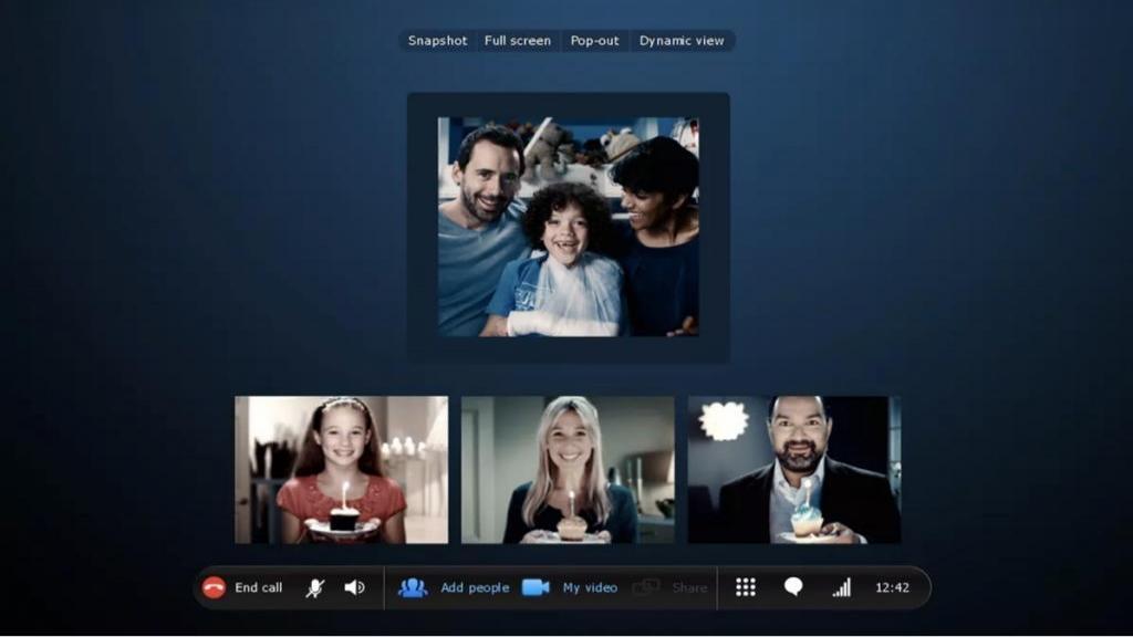 آموزش تصویری مراحل برقراری ویدئو کنفرانس در اسکایپ (Skype)