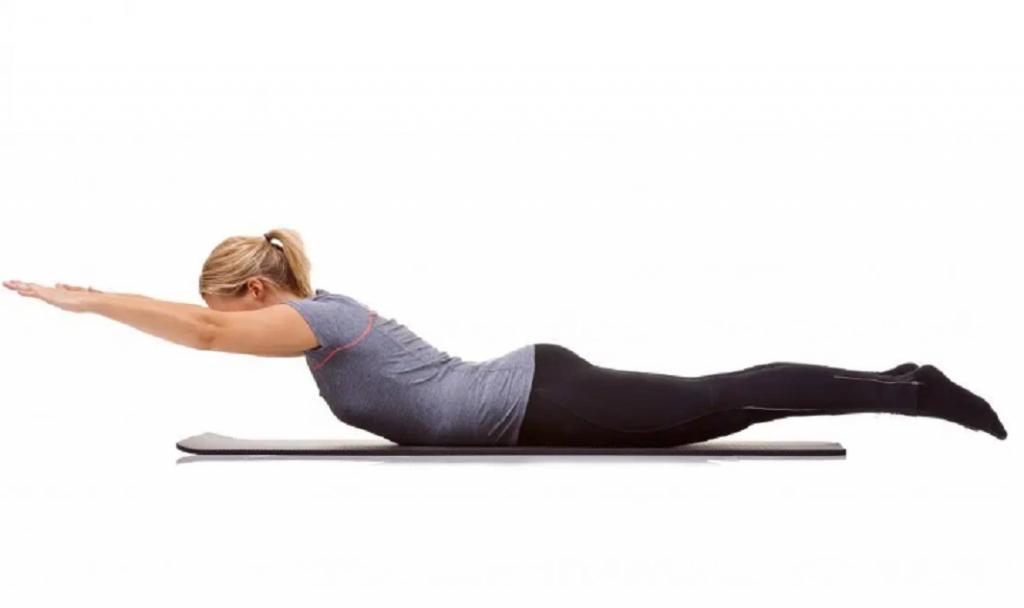 رفع گودی کمر با حرکات ورزشی ساده