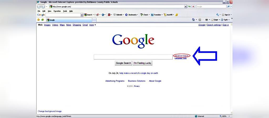 جستجوی پیشرفته در گوگل چیست؟