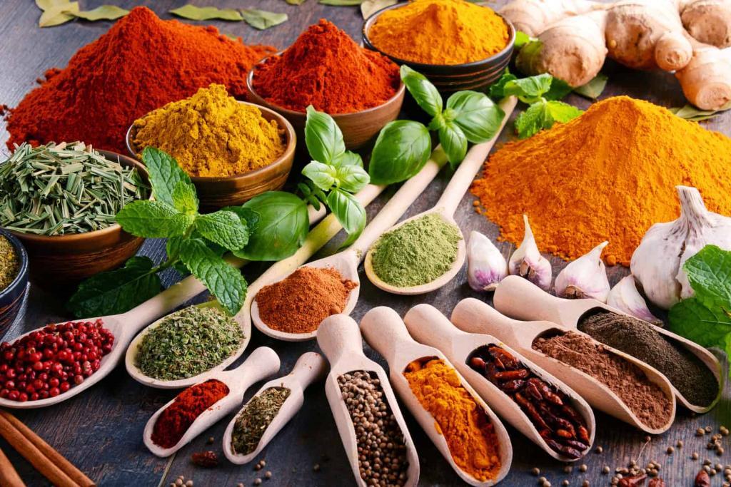 ادویه های آنتی اکسیدانی مناسب برای کاهش وزن و لاری