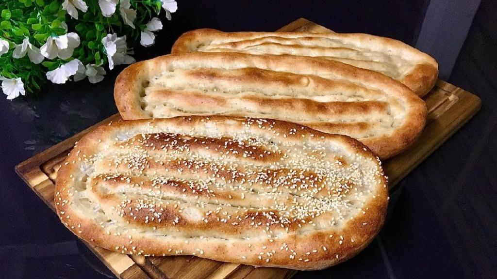طرز تهیه نان بربری خانگی خوشمزه سنتی به سبک نانوایی در فر