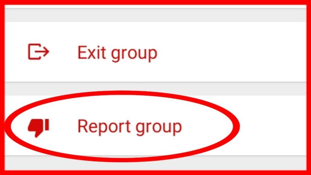 ریپورت گروه در واتساپ