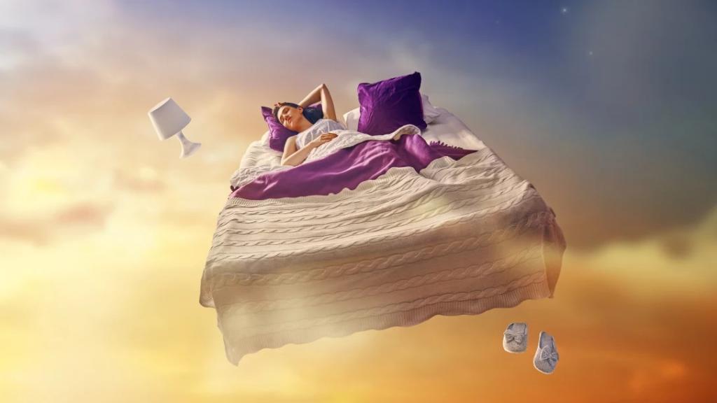 چیزهای عجیب و غریب در مورد خواب