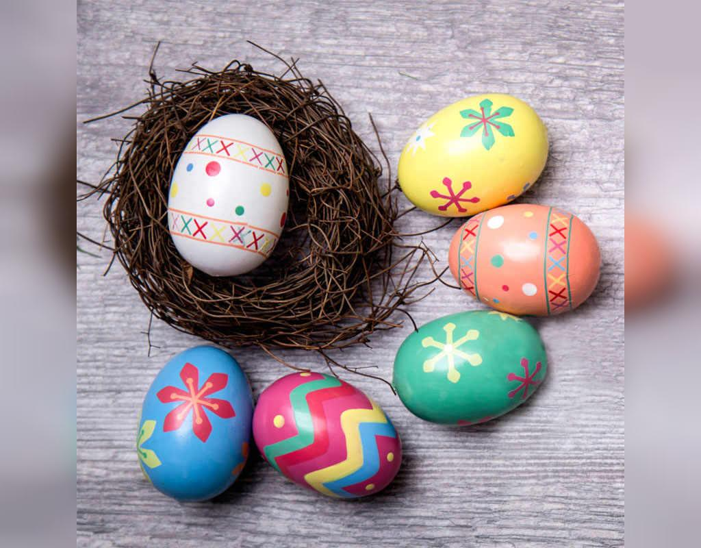طراحی تخم مرغ برای عید