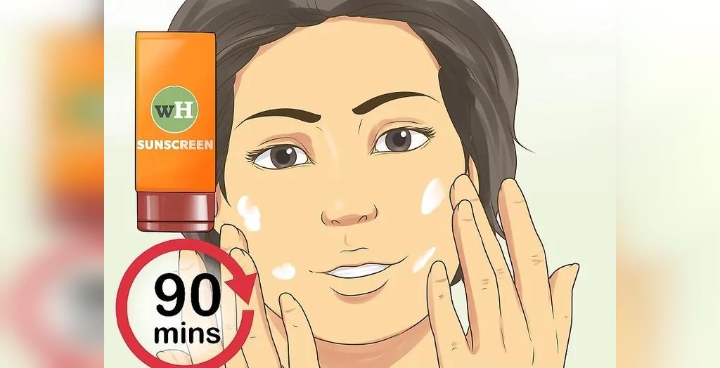جلوگیری از آفتاب سوختگی با کرم ضد آفتاب