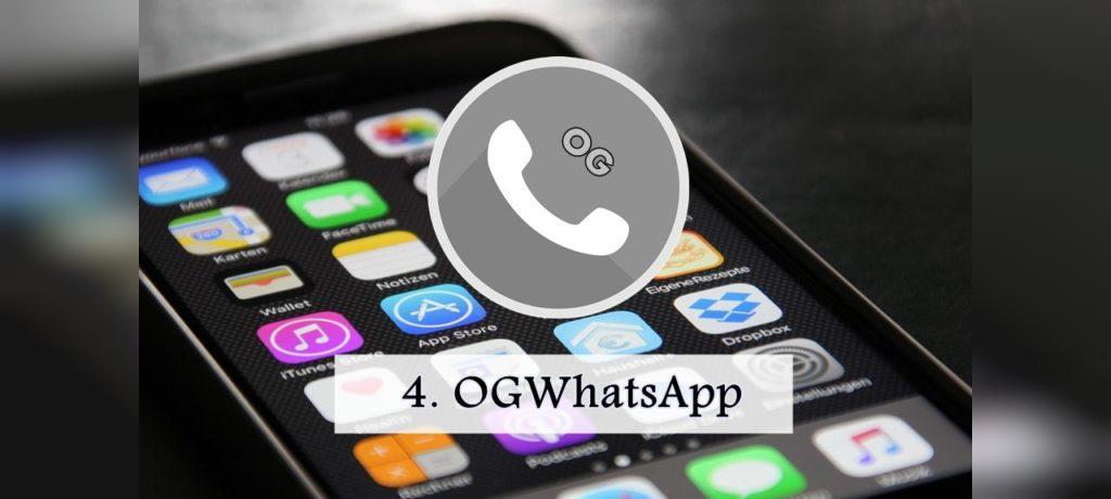 ایجاد چند حساب کاربری روی یک گوشی با استفاده از OGWhatsApp