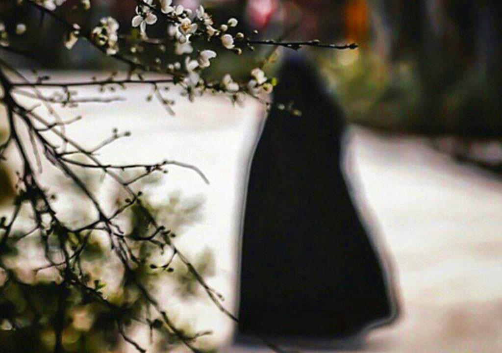 دختر چادری پروفایل بهاری